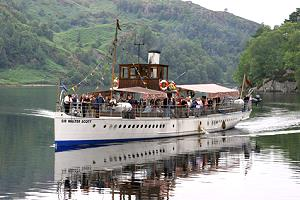 SS Sir Walter Scott auf Tour