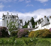 Blair Castle - Pitlochry in Schottland