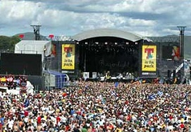 T in the Park in vollem Gange